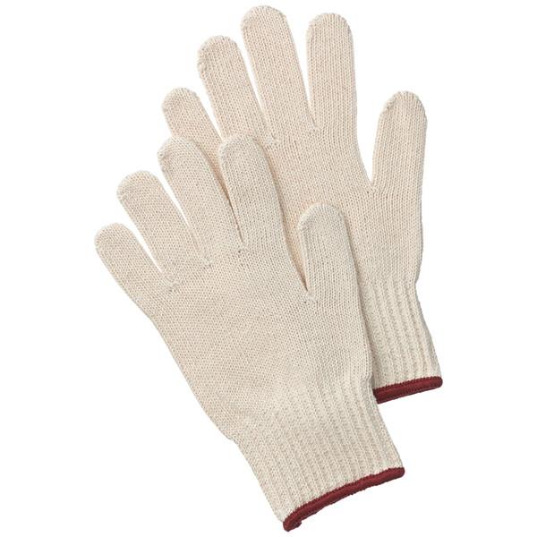 「現場のチカラ」純綿軍手 7ゲージ 約750g フリーサイズ 1袋(12双入) アスクル
