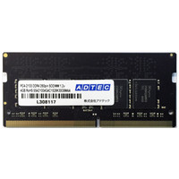 アドテック DOS/V用 DDR4ー2133 260pin SOーDIMM 4GB ADS2133N-4G 1個  (直送品)