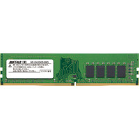 バッファロー PC4ー2400(DDR4ー2400)対応 288Pin DDR4 SDRAM DIMM 8GB MV-D4U2400-B8G 1式  (直送品)
