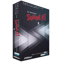 インターネット Sound it! 8 Premium for Macintosh SIT80M-PR 1本  (直送品)