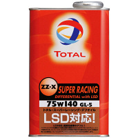 TOTAL ZZ-X SUPER RACING デフwithLSD75w140 1セット(20本入) (直送品)