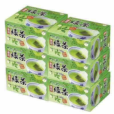 ハラダ製茶 やぶ北ブレンド 徳用緑茶ティーバッグ 1ケース(300バッグ:50バッグ入×6箱)