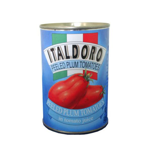 LOHACO - ホールトマト 缶 400g...