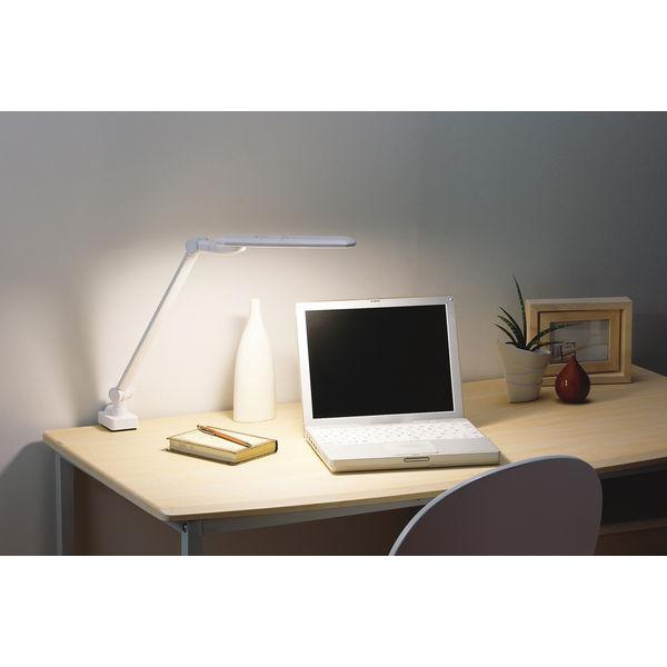 LEDアームライト 白 デスクスタンド LE-H637W ツインバード工...    LEDアー
