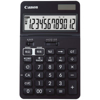 キヤノン 実務電卓 ブラック 卓上 KS-1220TU-BK