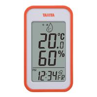 タニタ デジタル温湿度計 橙 TT559OR 1個