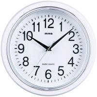 ノア精密 シロマグ [クオーツ 掛け 時計] W-663WH-Z 1個