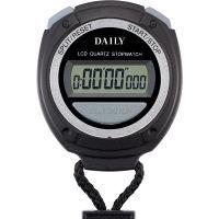 リズム時計 ストップウオッチ060 黒 8RDA60DA02 1個
