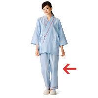 KAZEN 患者衣スラックス (検査着 検診衣) 男女兼用 3L 286-98 (直送品)