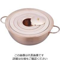 野中理化器製作所 湯煎器(銅製ウオーターバス) φ150mm 1台 1-1516-01 (直送品)