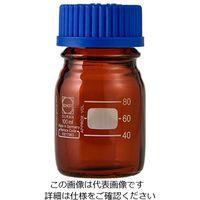 アズワン ねじ口瓶丸型茶褐色(デュラン(R)・017210) 100mL GL-45 1個 1-1961-03 (直送品)