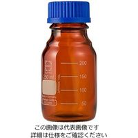 アズワン ねじ口瓶丸型茶褐色(デュラン(R)・017210) 250mL GL-45 1個 1-1961-04 (直送品)
