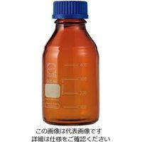 アズワン ねじ口瓶丸型茶褐色(デュラン(R)・017210) 500mL GL-45 1個 1-1961-05 (直送品)