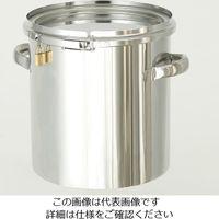 日東金属工業 南京錠付密閉式タンク 15L CTLK-27 1個 1-7504-02 (直送品)