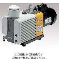佐藤真空 直結型油回転真空ポンプ(ラムダ) 65L/min・80L/min P65DZA 1台 1-8787-01 (直送品)