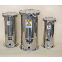 ユニコントロールズ ステンレス加圧容器(TBシリーズ) 10L TB10N 1個 1-9524-04 (直送品)