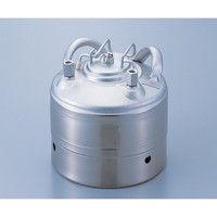 ユニコントロールズ ステンレス加圧容器 5L TM5SRV 1個 4-5009-03 (直送品)