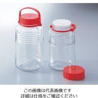 アズワン 保存瓶 4L 1本 4-5650-01 (直送品)