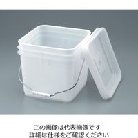 トスロン トスロン・スケア 10L(角型) 1個 5-060-08 (直送品)