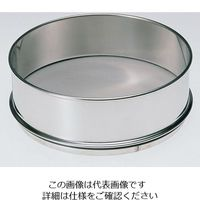 ふるい(試験用・鉛フリー)<TS製> SUS普及型 φ150mm(深さ45mm) 目開き6.70mm JTS-150-45-18 5-5391-55 (直送品)