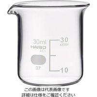 柴田科学 ビーカー(目安目盛付き) 30mL 1個 6-214-01 (直送品)