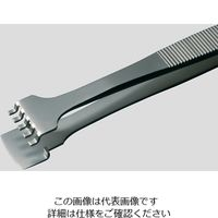 アズワン MEISTERピンセット ウェハー用 幅広 耐酸鋼 41LB6/8-SA 1本 6-7907-09 (直送品)
