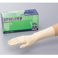 アズワン クアラテック手袋 DXパウダーフリーM 100枚/1箱 8-4053-02