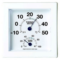 Lemnos ミニ温湿度計 ブルー AS09-01BL