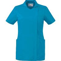 ミズノ ユナイト 医療白衣 レディスジャケット MZ0123 ターコイズ LL 1枚 (取寄品)