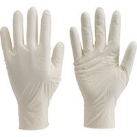 トラスコ中山(TRUSCO) TRUSCO 使い捨て極薄手袋 L ホワイト (100枚入) TGL-493L 1箱(100枚) 330-3675 (直送品)