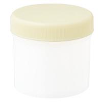 ケーエム化学 丸底プラツボ(増量タイプ) 120 クリーム (未滅菌) 3606 1箱(100個入) (取寄品)