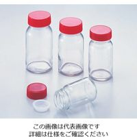 アズワン 規格瓶(広口) 透明 260mL No.14 1セット(10個:1個×10本) 5-130-10 (直送品)