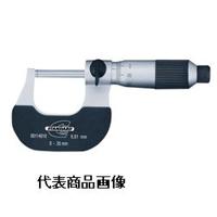 TESA スタンダード・ゲージ アナログ外側マイクロメーター 0-25mm 0.01mm 1個 (直送品)