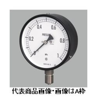 長野計器 普通形圧力計(屋内・耐食用)φ75 埋込形 1個 (直送品)