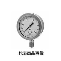 長野計器 グリセリン入圧力計 φ100 立形 1個 (直送品)