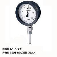 佐藤計量器製作所 バイメタル温度計 BM-S-100P (0/200℃、 L=150mm、 R(PT) 1/2) 1個 (直送品)