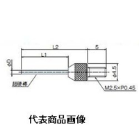 テクロック 超硬付フラットニードル測定子 ZS-580 1個 (直送品)