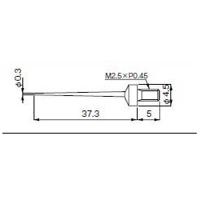 テクロック 測定子 ZS-543 1個 (直送品)