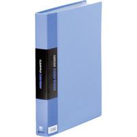 キングジム クリアーファイルカラーベース A4タテ60ポケット 307×242×35mm 青 スーパー業務用パック 1パック(30冊入)