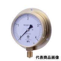 第一計器製作所 HNT汎用圧力計 BVT G3/8 100×0.5MPA HNT-341B-0.5MPA-V 1台 (直送品)