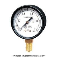 右下精器製造 右下 スター (圧力計)(A枠立型・φ60) 圧力レンジ0.0〜0.40MPa S-21-0.4MP 1個 321-3854 (直送品)