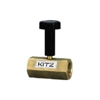 キッツ(KITZ) キッツ 青銅製圧力計ゲージバルブ 8A BCGVL8A 1本 295-9470 (直送品)