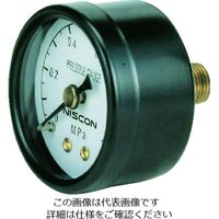 日本精器 圧力計40mm1/8埋込型 PG40-10K 1個 103-6246 (直送品)