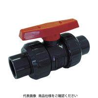 積水化学工業(セキスイ化学) エスロン ボールバルブ TS式 本体PVC OリングEPDM 15 BV15SX 1個 351-4919 (直送品)
