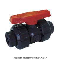 積水化学工業(セキスイ化学) エスロン ボールバルブ ねじ式 本体PVC OリングEPDM 25 BV25NX 1個 351-4943 (直送品)