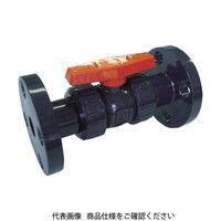 積水化学工業(セキスイ化学) エスロン ボールバルブ F式 本体PVC OリングEPDM 50 BV50FX 1個 355-6654 (直送品)