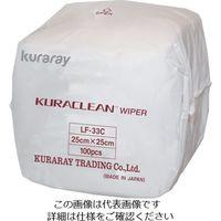クラレ(KURARAY) クラレ クラクリーンワイパー 25cmx25cm 3000枚入り LF-33C 1ケース(3000枚) 375-2402 (直送品)