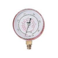 文化貿易工業 BBK 圧力計(赤) 5423-P 1セット(3個) (直送品)