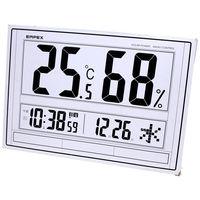 ジャンボソーラー温湿度計 TD-8170 エンペックス (直送品)