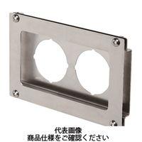 岩田製作所 計測機器 圧力ゲージブラケット(アナログ用) オフセットタイプ2 PAH2-01S 1セット(2個) (直送品)